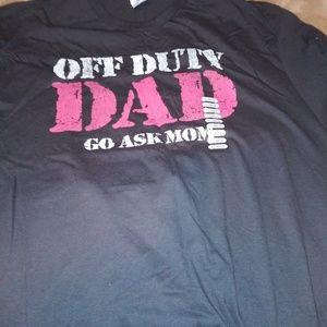 Off Duty Dad shirt